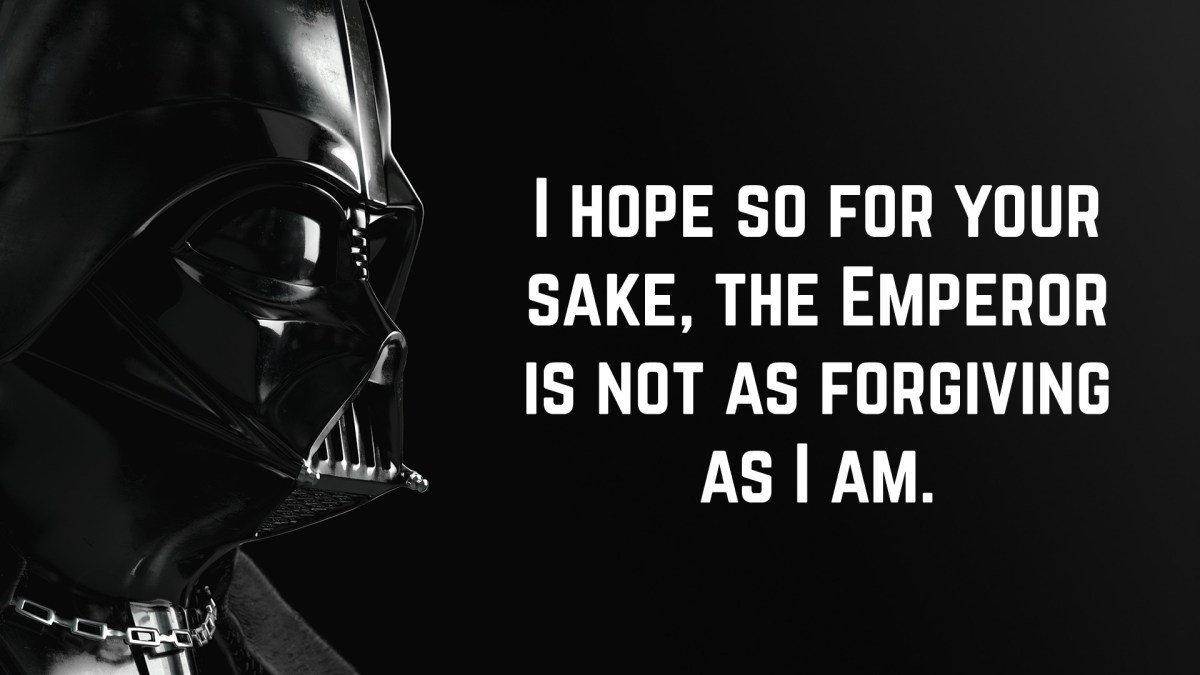 Darth Vader Quotes | Hand Picked Text & Image Quotes ...