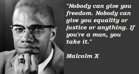 Justice Malcolm X