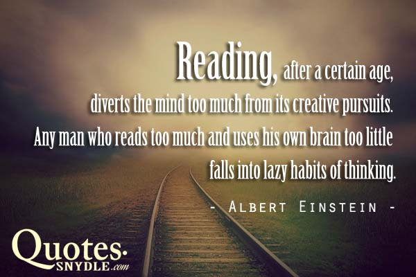 Brainy Quotes and Sayings with Picture   Quotes and Sayings brainy quotes about reading