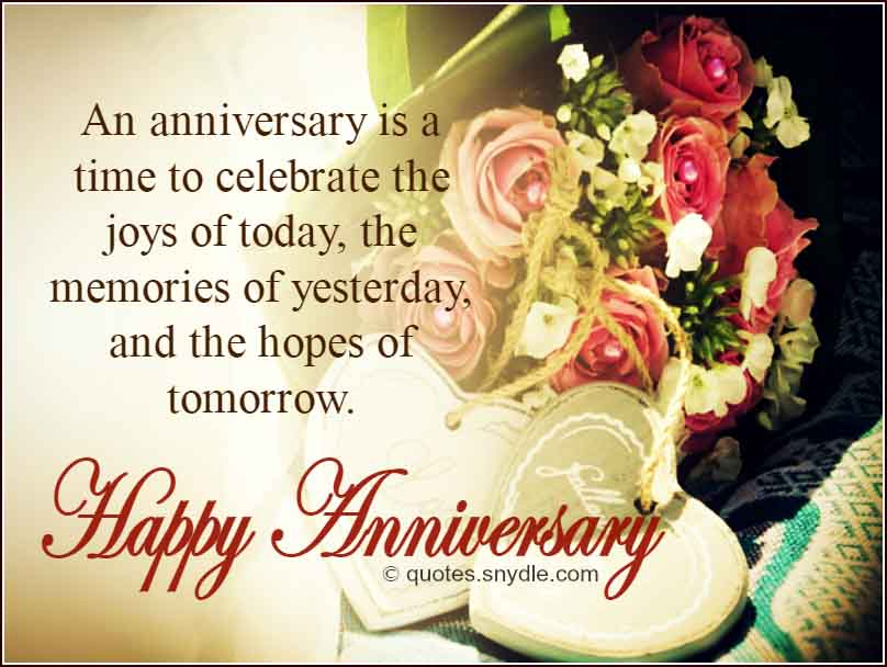 Wedding Anniversary Quotes - Quotes and Sayings