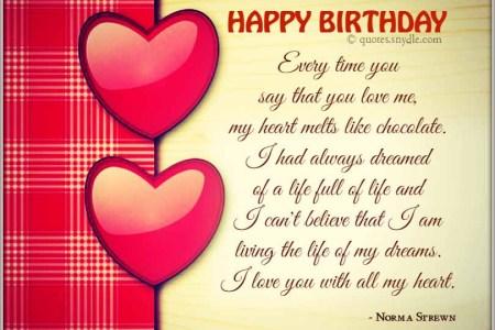 Imgenes De Birthday Message To An Ex Boyfriend
