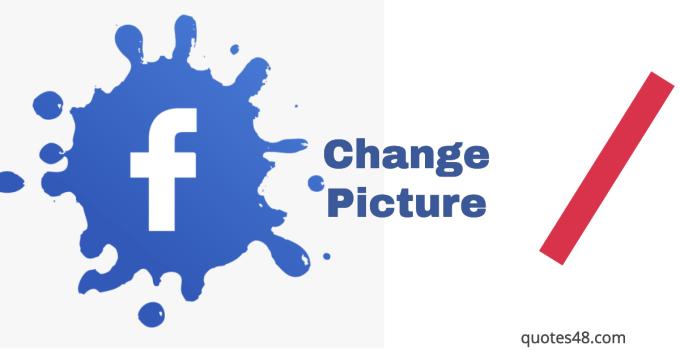 change facebook image
