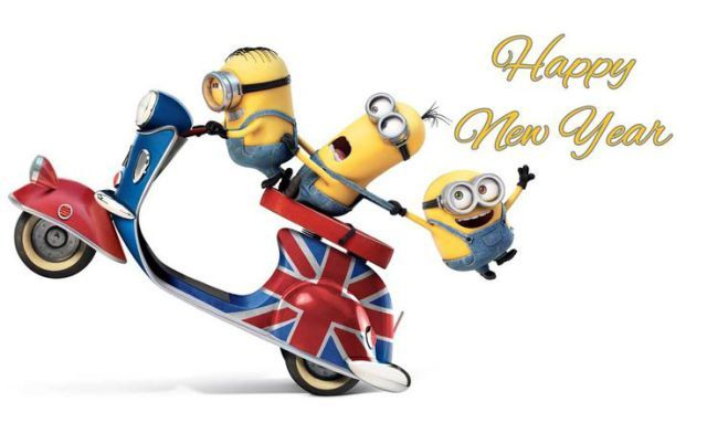 Image of: Happy Quotes Of The Day Description Happy New Year 2016 Funny Minions Quotes Sayings New Year Quotes Happy New Year 2016 Funny Minions 1 Quotes
