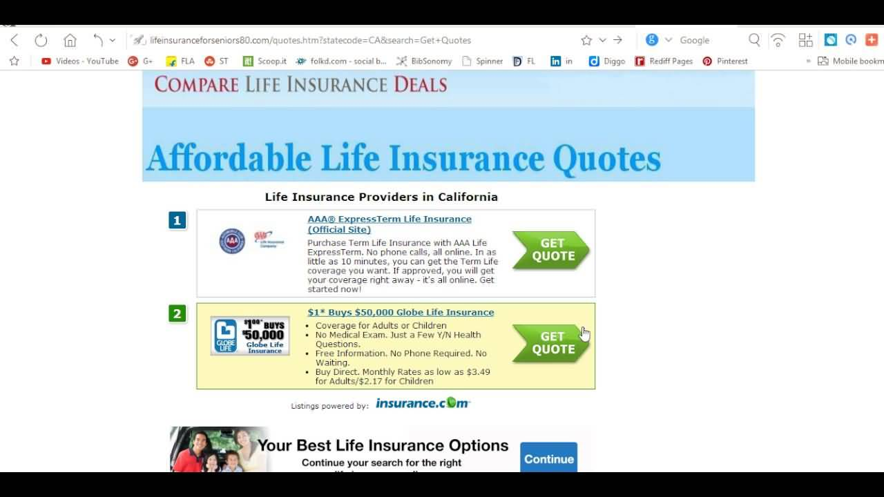 Aarp Term Life Insurance Quotes 02