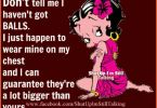 Betty Boop Funny Quotes Meme Image 15