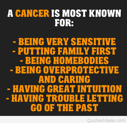 Cancer Sign Quotes Magnificent Cancer Sign Quotes Meme Image 14  Quotesbae
