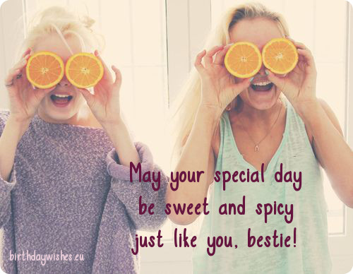 Short Birthday Wishes For Best Friend ~ Friend birthday quotes meme image 08 quotesbae