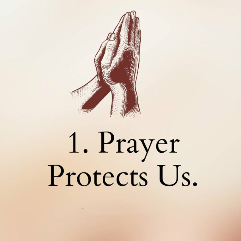 1. A PRAY PROTECTS US
