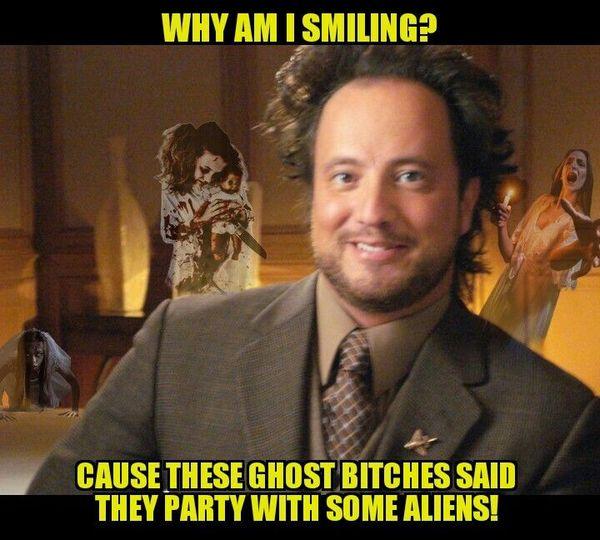 Ancient aliens dude memes