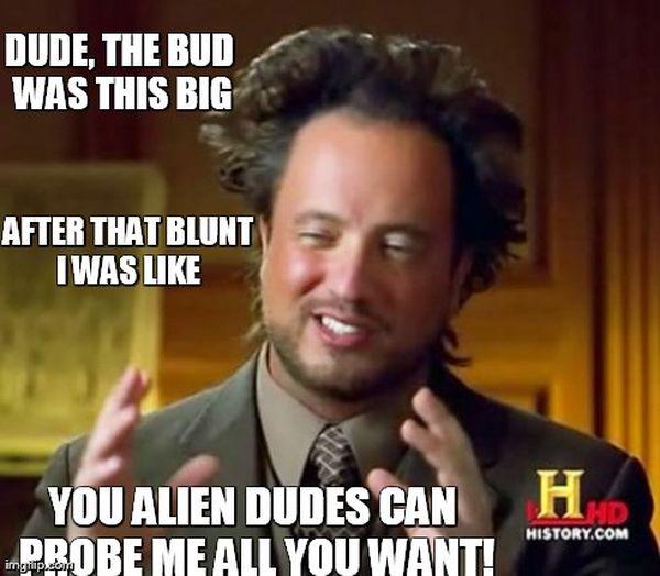 Best ancient aliens meme jokes