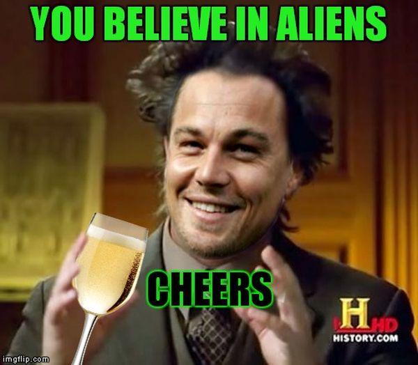 Cool giorgio tsoukalos aliens meme image