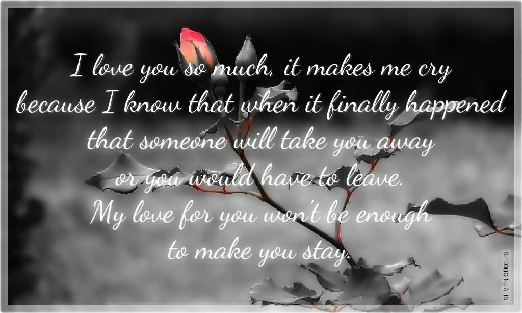 Crying Love Quotes Captivating Crying Love Quotes 19  Quotesbae