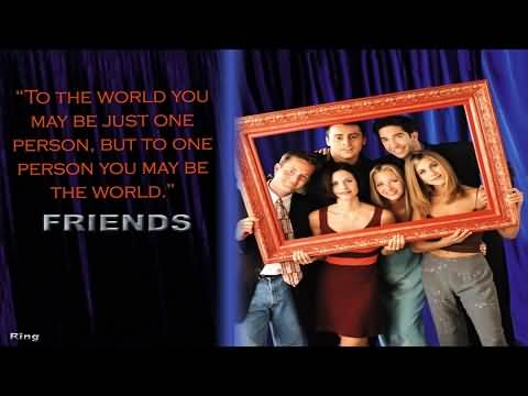 Tv Quotes About Friendship Stunning Friends Tv Show Quotes About Friendship 17  Quotesbae