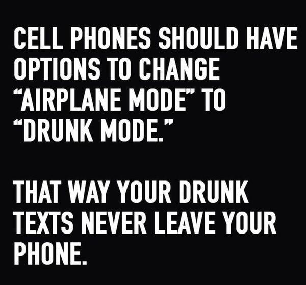 Funny drunk texting meme Image