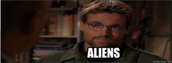 George ancient aliens pics joke