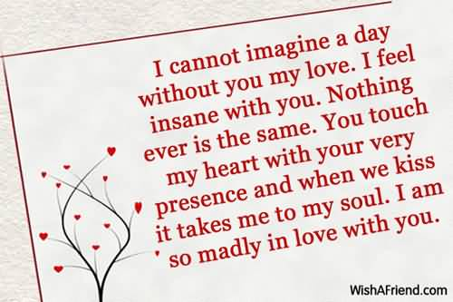 Heart Touching Love Quotes For My Girlfriend 16