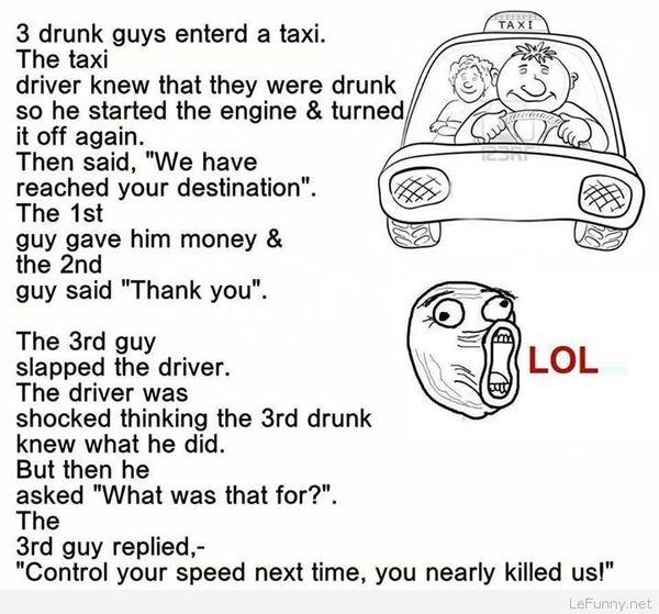 Hilarious funny jokes for drunk people Joke
