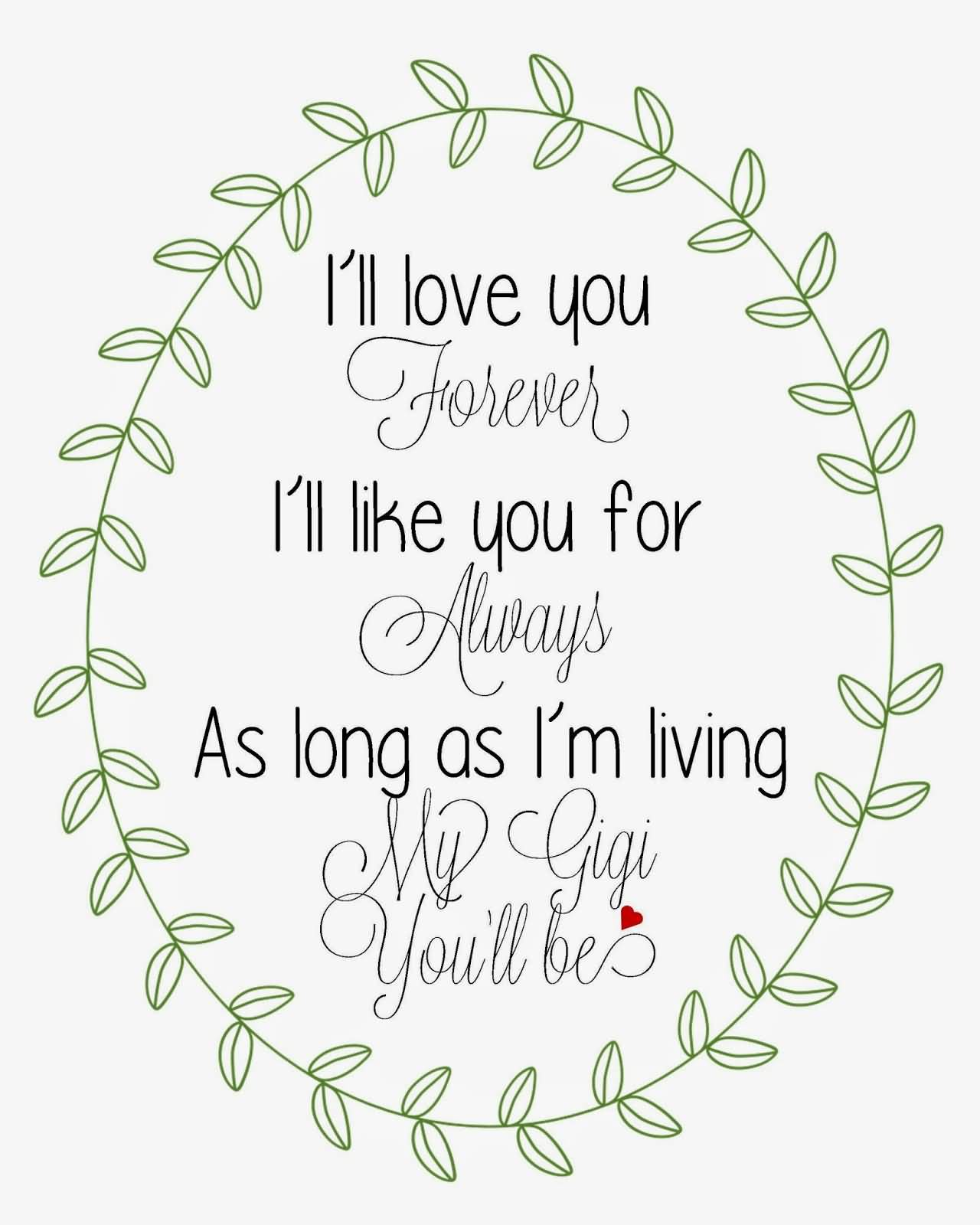 I Ll Love You Forever Quote I Ll Love You Forever Book Quotes 13  Quotesbae