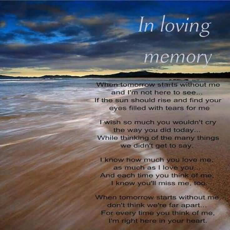 In Remembrance Quotes Of A Loved One Enchanting In Remembrance Quotes Of A Loved One 09  Quotesbae