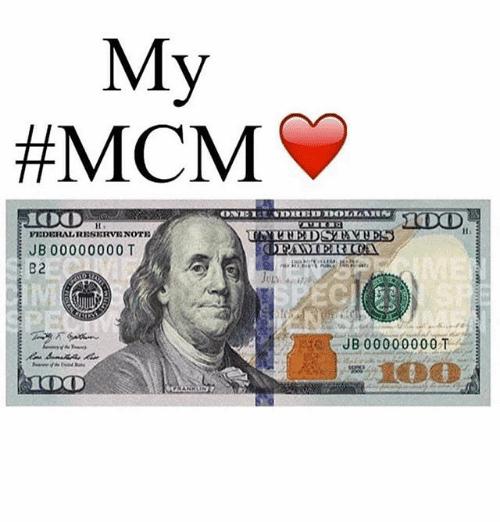 My #MCM