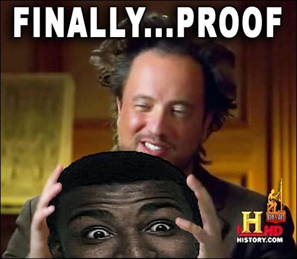 Super ancient aliens meme image