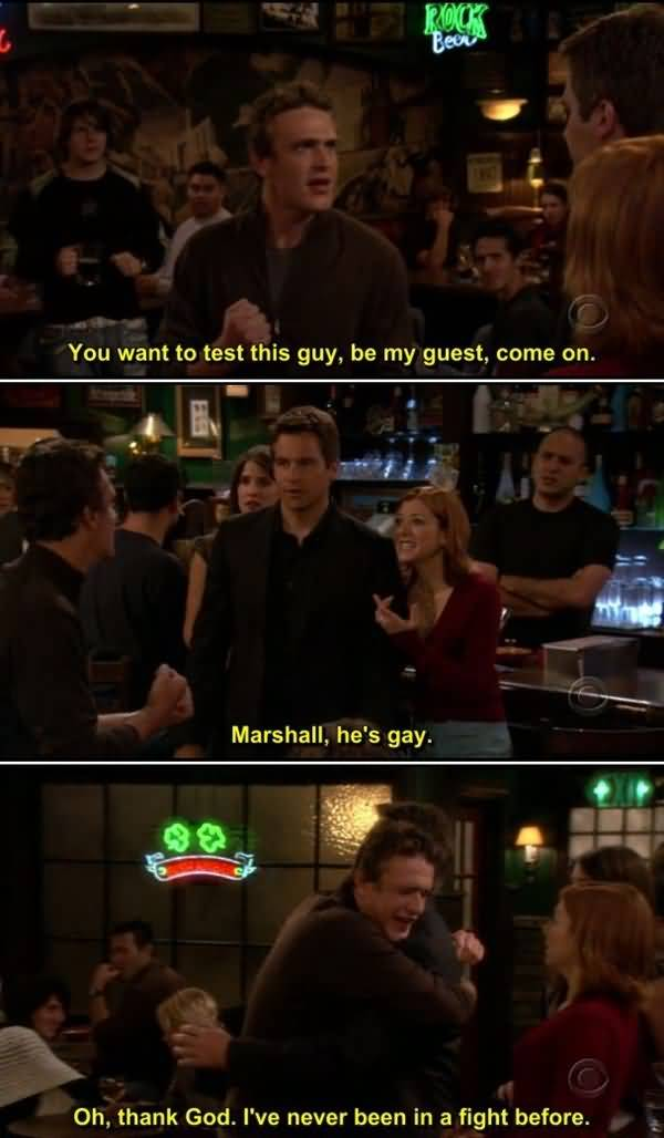 Funniest how i met your mother lily and marshall memes picture