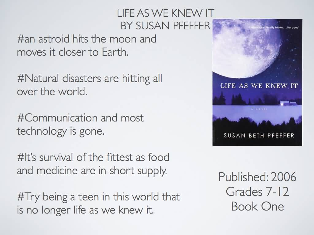 Life As We Knew It Quotes Life As We Knew It Quotes 20  Quotesbae