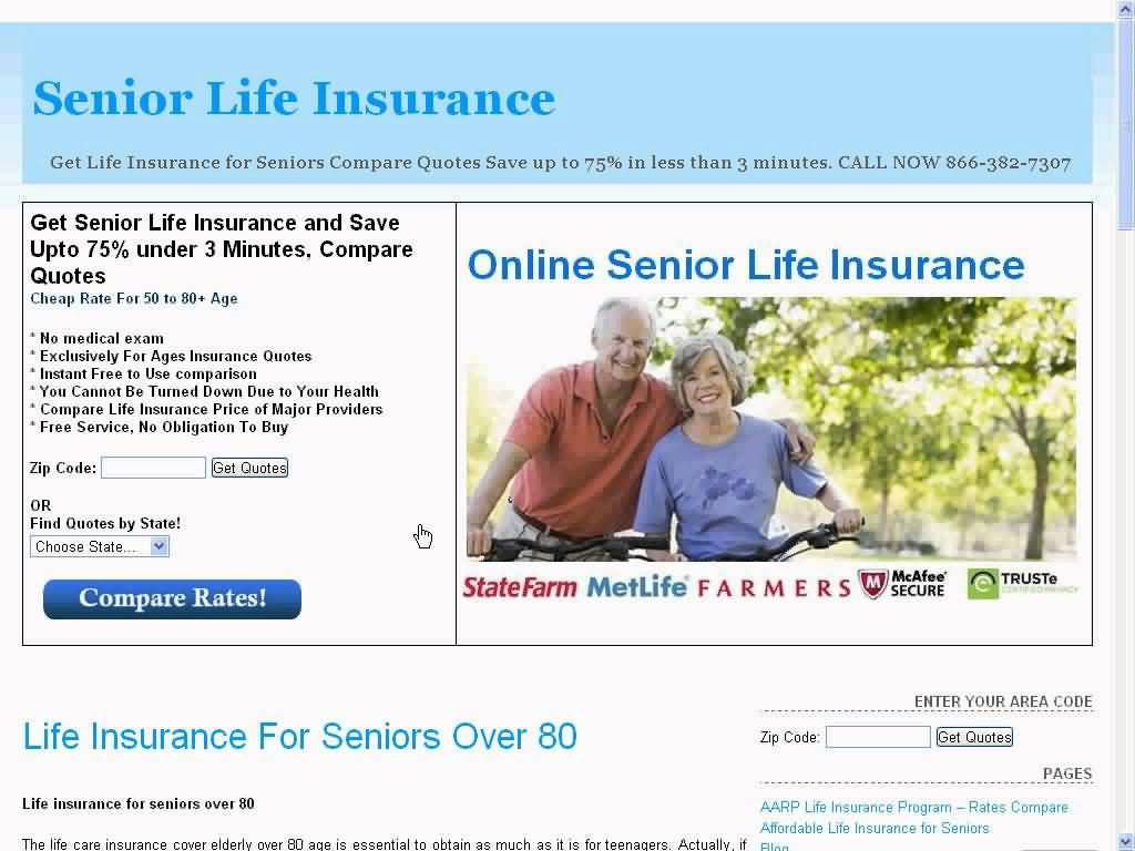 Life Insurance Quotes For Seniors Over 80 Life Insurance Quotes For Seniors Over 80 12  Quotesbae
