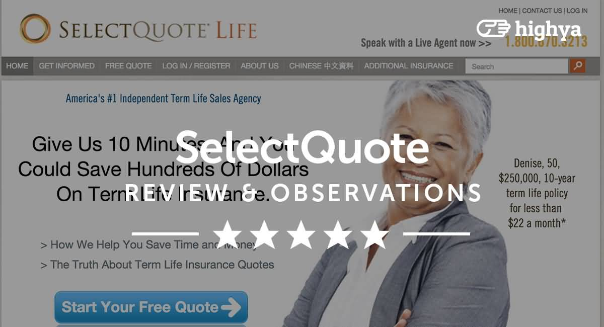 Select A Quote Life Insurance Endearing Life Insurance Select Quote 01  Quotesbae