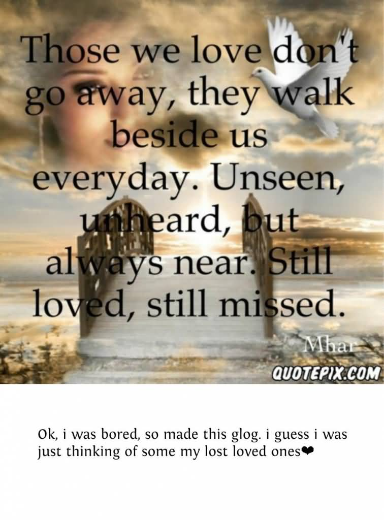 Lost Loved Ones Quotes 11 Awesome Design