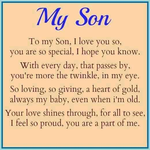 Love My Son Quotes 06