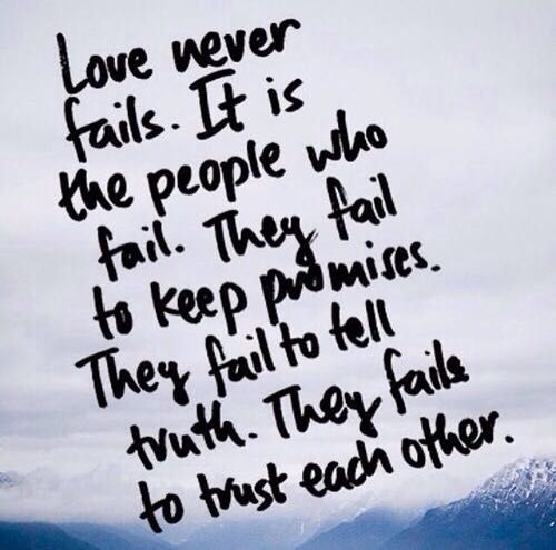 Incroyable Love Never Fails Quote Stunning Love Never Fails Quote 10 Quotesbae