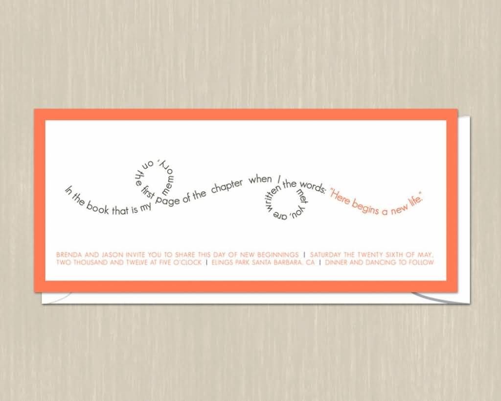 Incroyable Love Quotes Wedding Invitation Homean