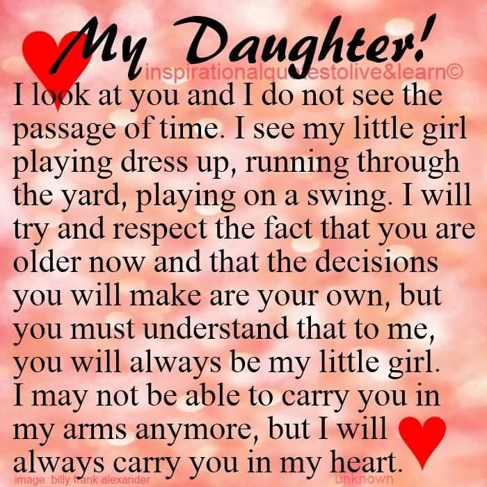Love Quotes My Daughter 16