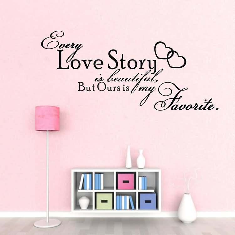 Love Quotes Wall Art Mesmerizing 20 Love Quotes Wall Art Images Slogans & Pictures  Quotesbae