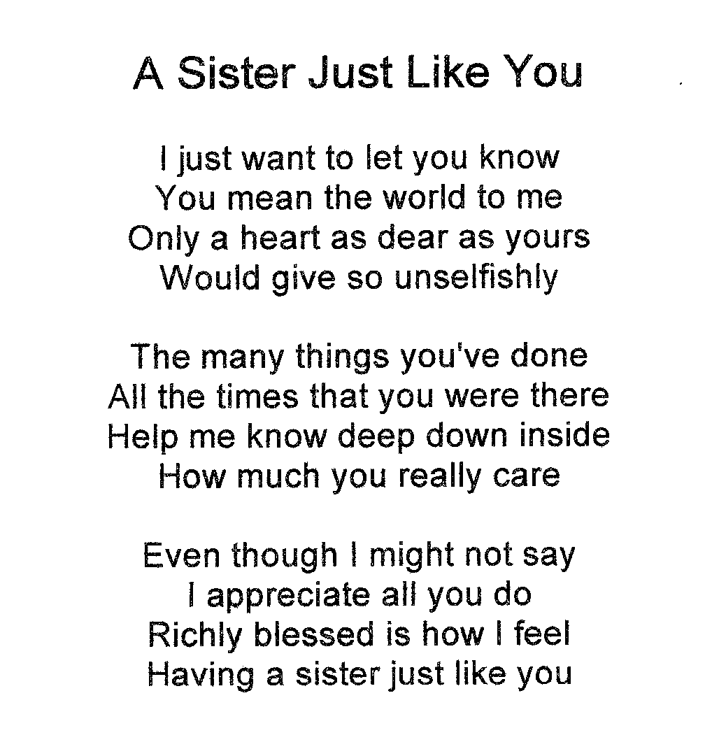 Love You Sister Quotes Endearing Love You Sister Quotes 09  Quotesbae