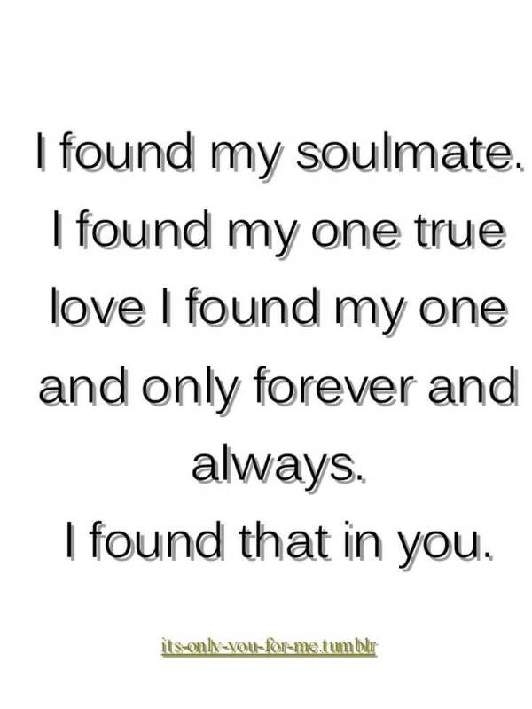 20 My One And Only Love Quotes and Sayings Gallery | QuotesBae