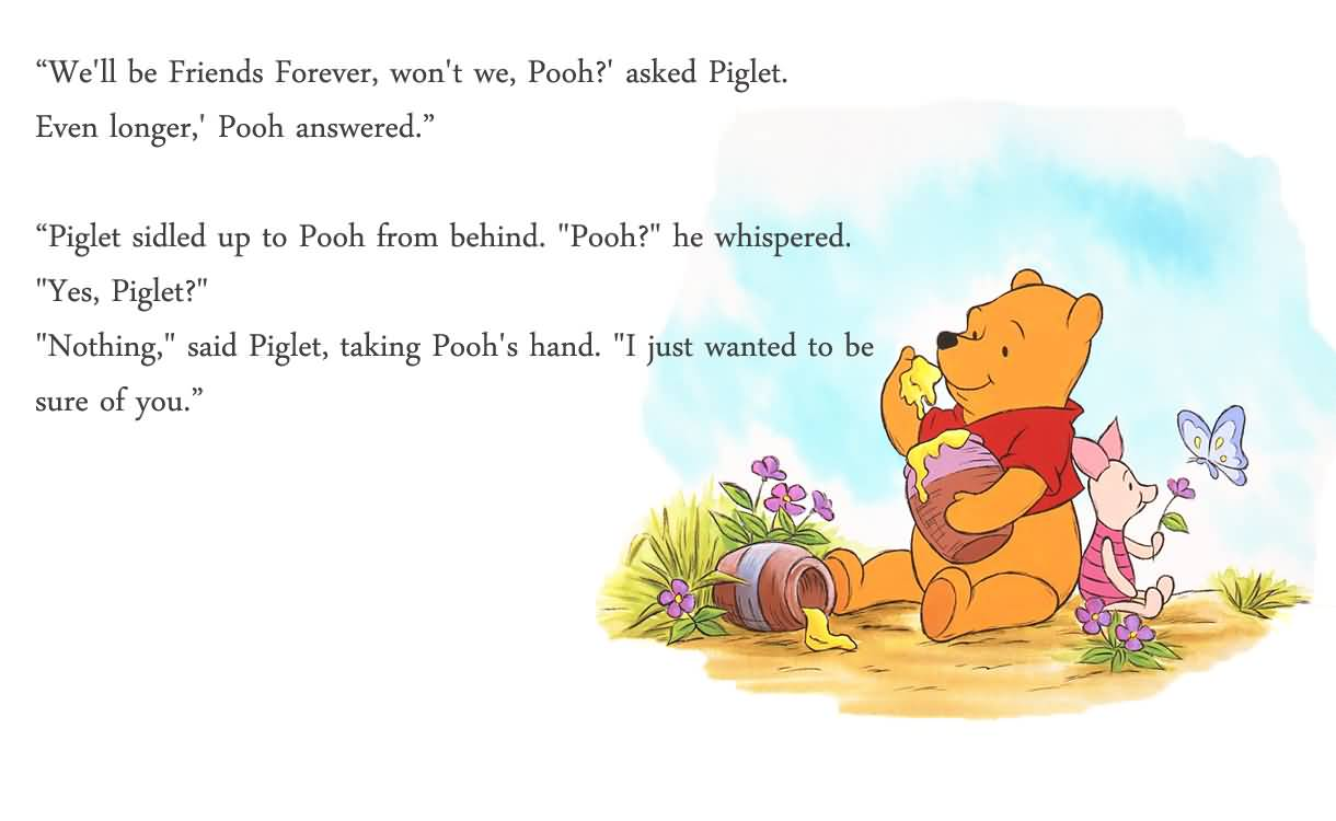 Pooh Quotes About Friendship Pooh Quotes About Friendship 18  Quotesbae