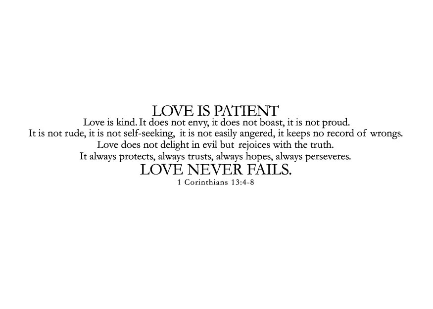 Quote Love Is Patient Cool Quote Love Is Patient 11  Quotesbae