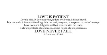 Quote Love Is Patient 11