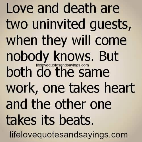Quotes About Love And Death Unique Quotes About Death And Love 13  Quotesbae