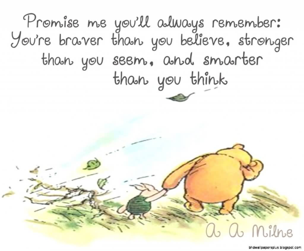 Winnie The Pooh Quote About Friendship Classy Quotes About Friendship Winnie The Pooh 05  Quotesbae