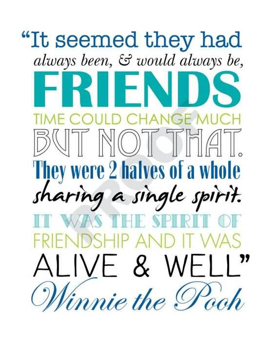 Quotes About Friendship Winnie The Pooh Inspiration 20 Quotes About Friendship Winnie The Pooh Pics  Quotesbae