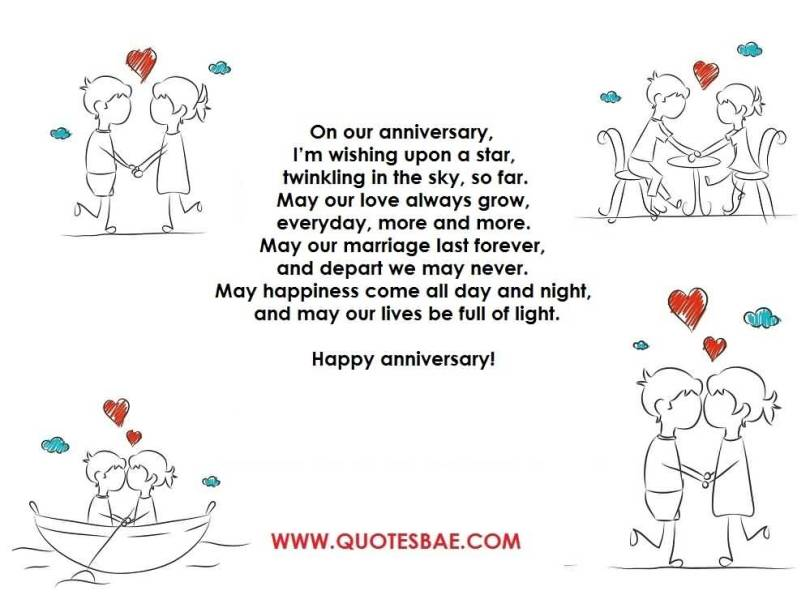 Top 10 Best Anniversary Poems For Her (WIFE) Wallpaper