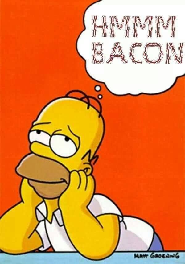 Very funny homer simpson mmm meme image