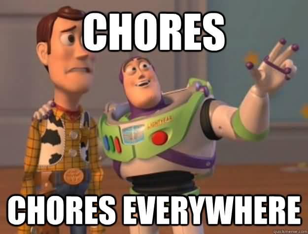 Chores Meme Funny Image Photo Joke 10