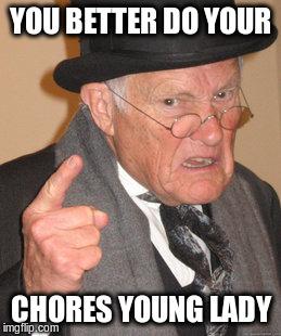 Chores Meme Funny Image Photo Joke 15