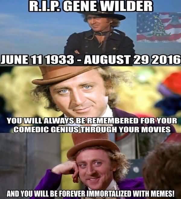 Funniest Gene Wilder Meme Joke