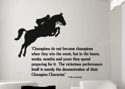 Horse Jumping Quotes Meme Image 01 QuotesBae