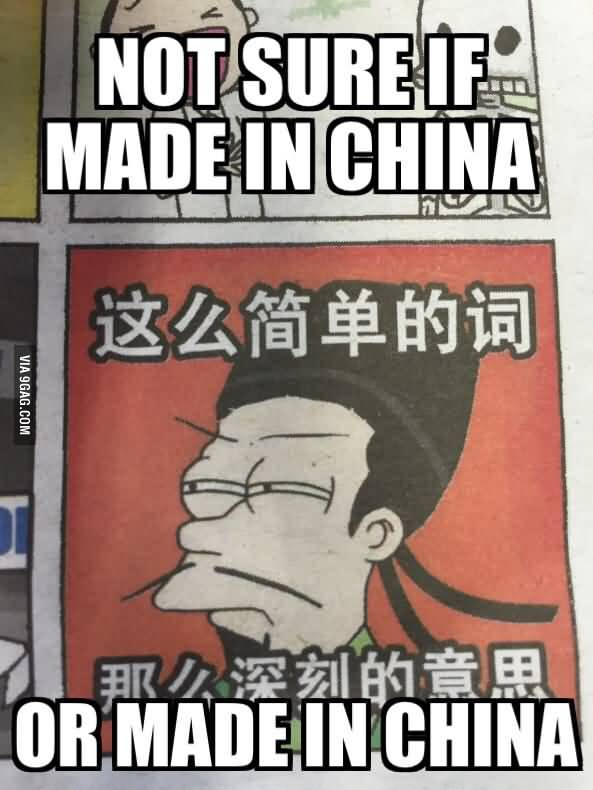 Made In China Meme Funny Image Photo Joke 05
